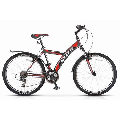 """Велосипед Stels 26"""" горный Navigator-550 Gent  21-ск,стал.рама,двойн.алюм.обода вилка Suntour"""