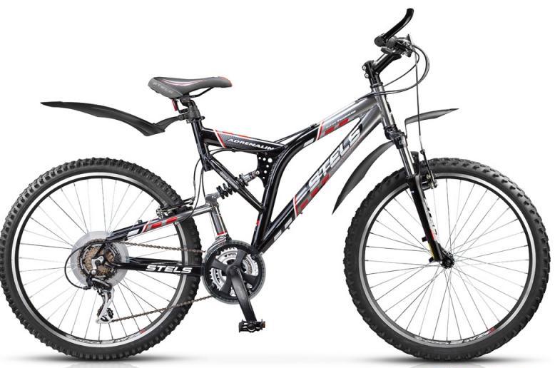 "Велосипед Stels 26"" двухподвес Adrenalin 21-ск,алюм.рама,двойн.алюм.обода вилка SF11-XCMV3"