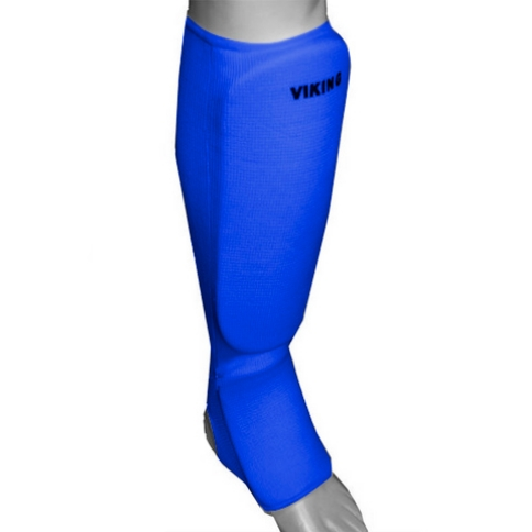 Защита ног для единоборств 7481 синяя (748-1)   M УЦЕНКА!!! 5.8