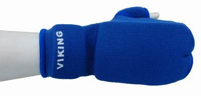 Накладки Викинг каратэ трикотажные 7504 L/XL-BE синие