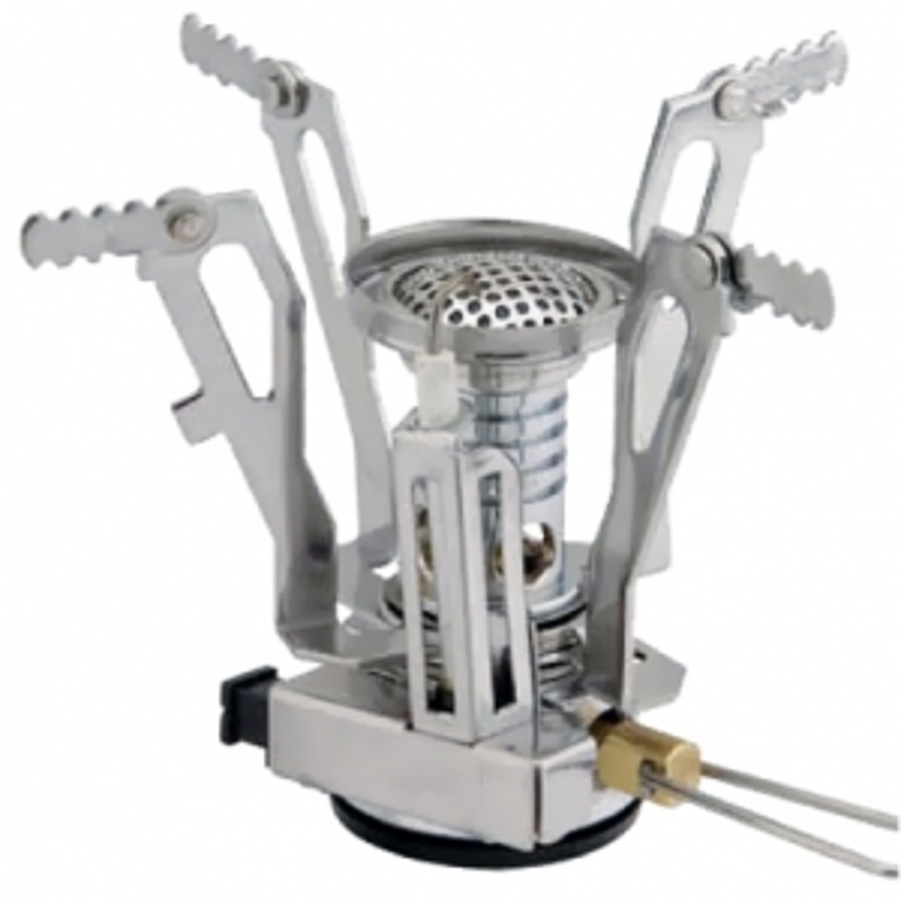 Горелка газовая Tramp TRG-009 складная с пьезоподжигом в футляре