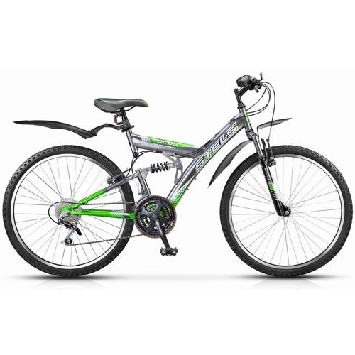 """Велосипед Stels 26"""" двухподвес Focus 18-ск,стал.рама,двойн.алюм.обода"""