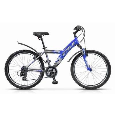 """Велосипед Stels 24"""" горный Navigator-410 Gent 18-ск,стал.рама,алюм.обода,вилка Suntour"""