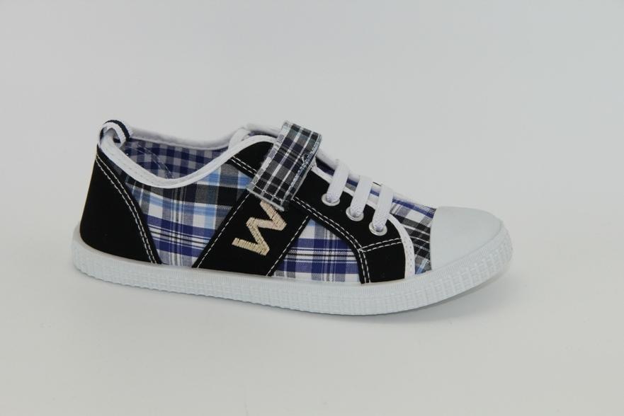 Обувь детская Trien  WJ 003-2 blue/black р. 33 черно-синие АКЦИЯ!
