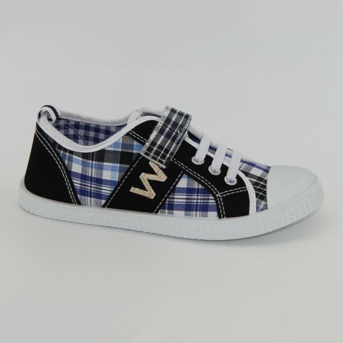 Обувь детская Trien  WJ 003-2 blue/black р. 36 черно-синие АКЦИЯ!
