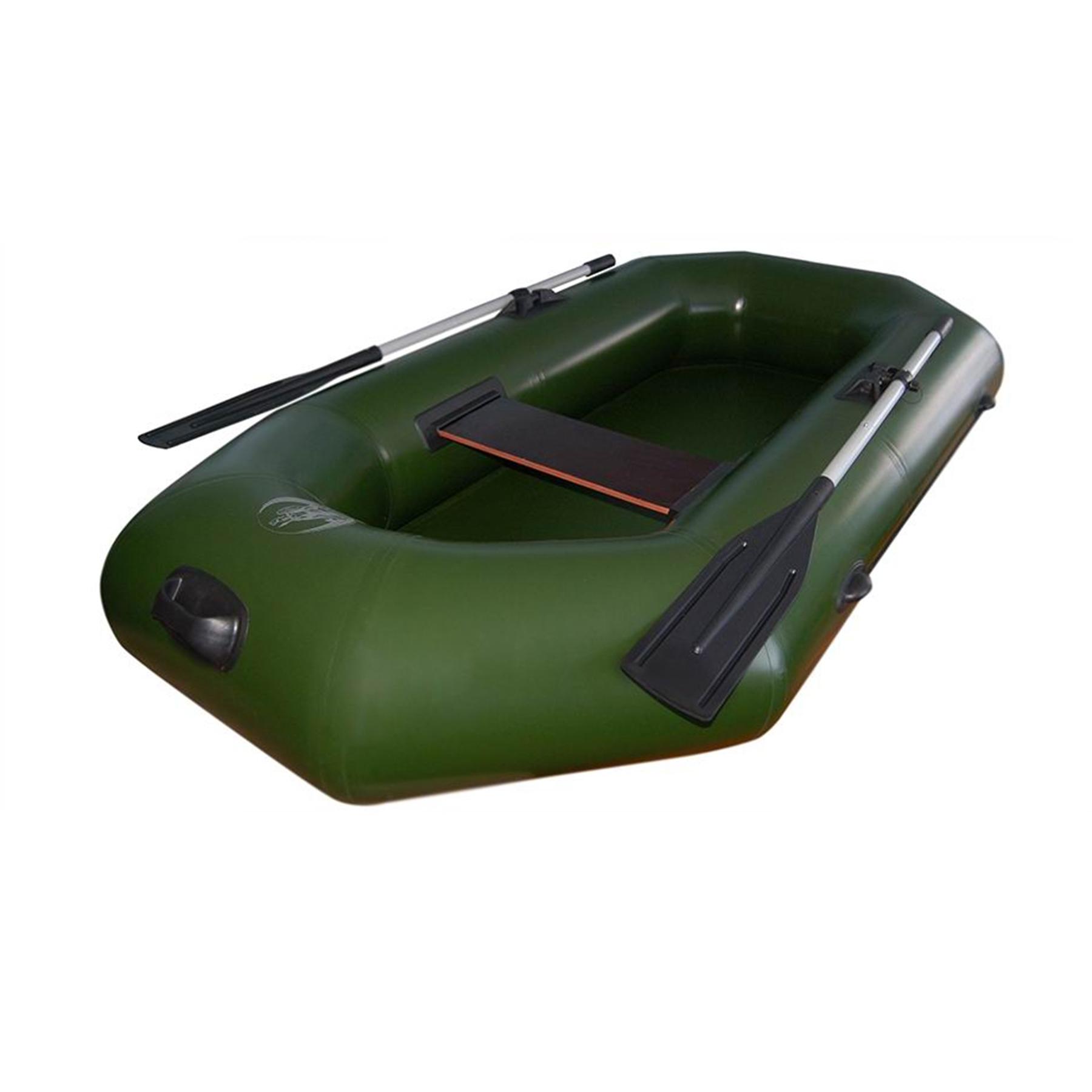 Лодка Олимп - 210 / 215  (210*114см, гр.под.160 кг,2отс.,10 кг,ж.сид.,весла)