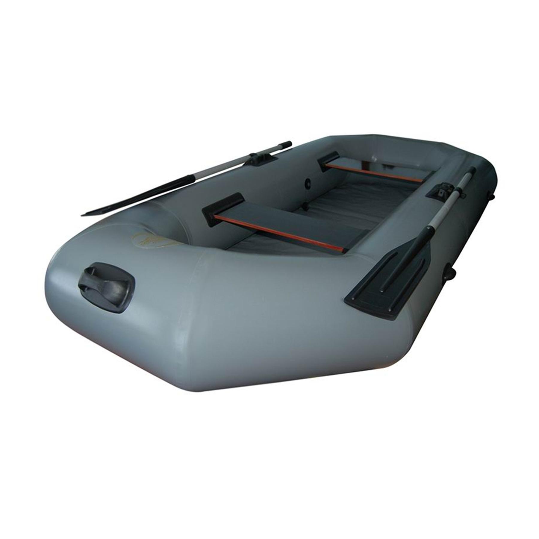 Лодка Легион - 240 / 245  (240*124см, гр.под.210 кг,2отс.,13 кг,ж.сид.,весла)