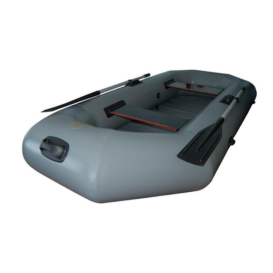 Лодка Олимп - 240 / 245 НД (надув.дно, 240*124см, гр.под.210 кг,2отс.,13 кг,ж.сид.,весла)