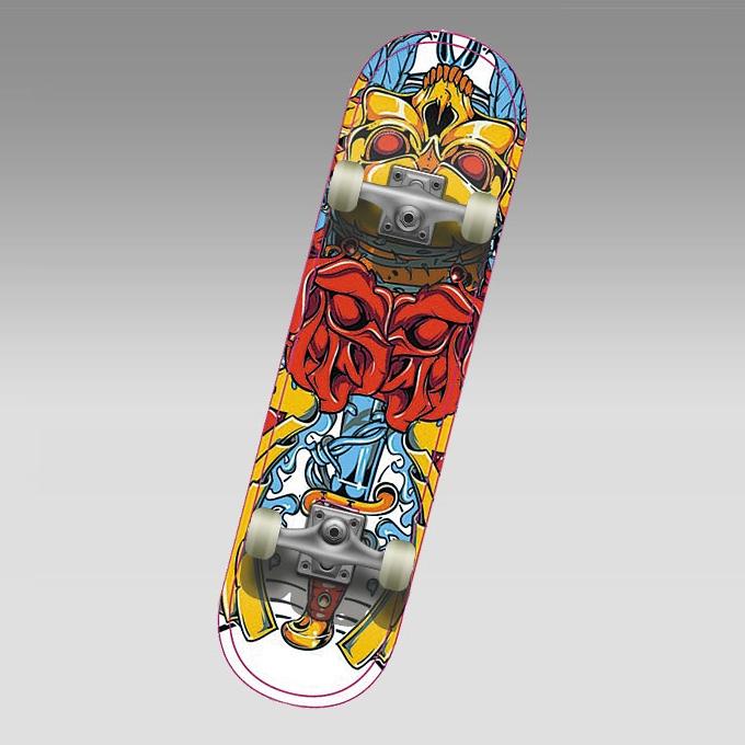 "Скейт MC-3 SWARD (31"" китайс.клен 9 сл. алюм.рама кол. 50 мм АВЕС 5) АКЦИЯ!"