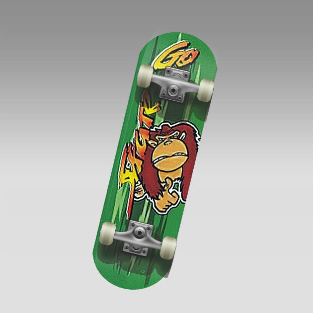 "Скейт MC-mini MONKEY (22"" китайс.клен 9 сл. композит.рама кол. 50 мм 608Z)"