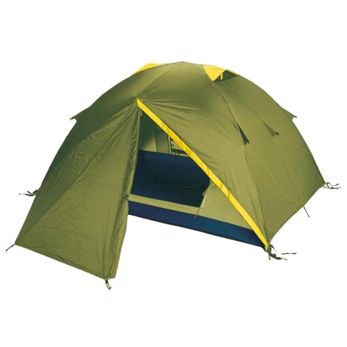 Палатка Tramp NISHE 2 арт. TRT-003.04 (двухсл, водост.5000мм, 290*220*120см,2 входа, 2 тамбура 70см)