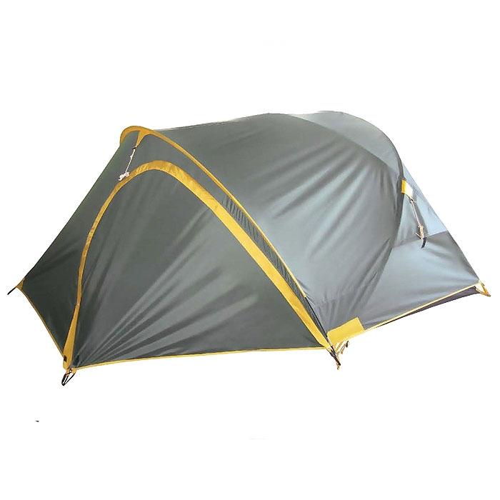 Палатка Tramp COLIBRI PLUS 2 арт. TRT-014.04 (2-сл, вод.5000мм, 340*230*115см,2 входа, тамбур 140см)