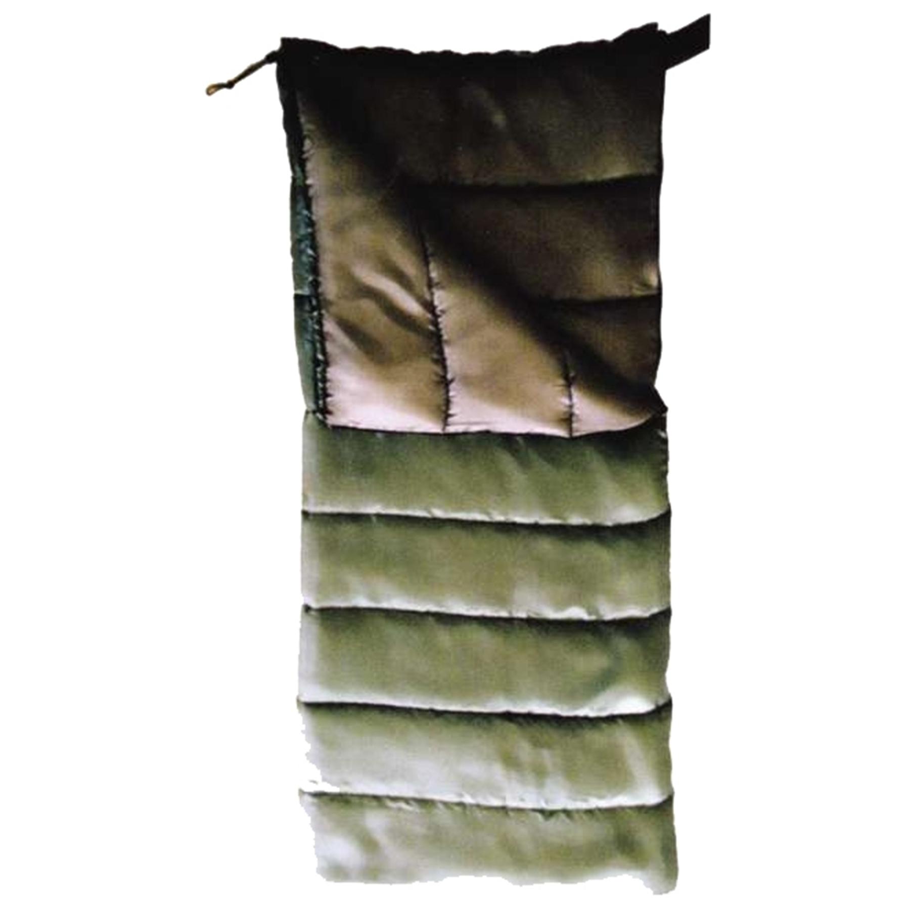 Спальник-одеяло Totem Woodcock 190*73см Hollofiber оливковый TTS-001 (0/+14) левый L