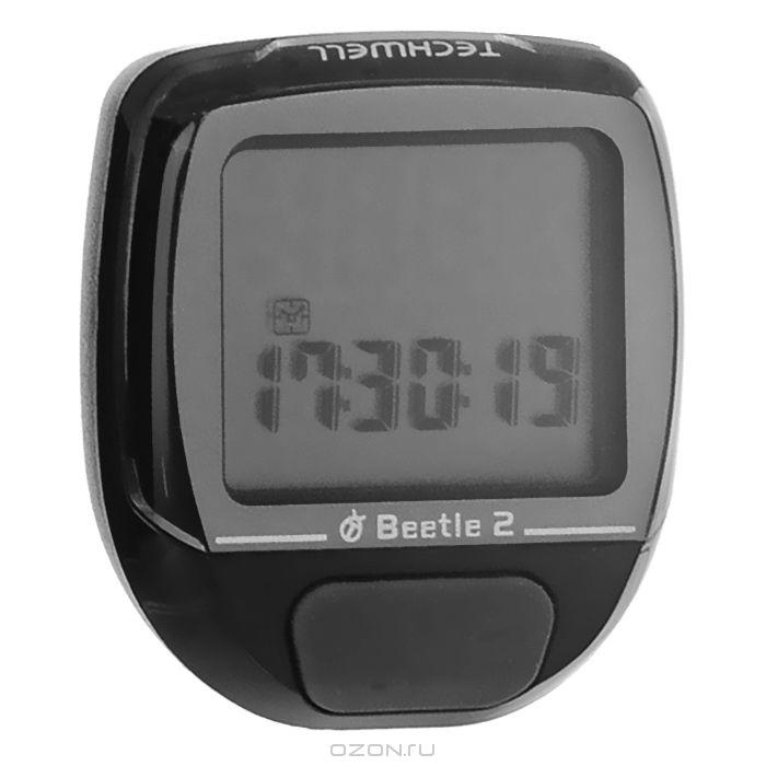 Велокомпьютер Beetle-2 черный 8 функций 11703