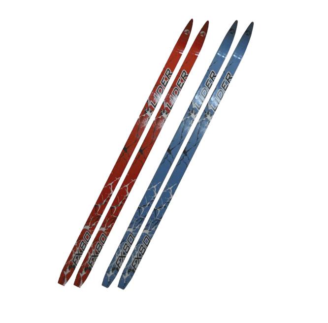 """Лыжи деревянные 180 см """"Лидер"""" взрослые спортивно-беговые"""