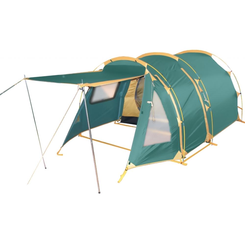 Палатка Tramp OCTAVE 3 арт.TRT-012.04 (двухсл, водост.5000мм, 380*170*140см,3 входа, тамбур 170см)