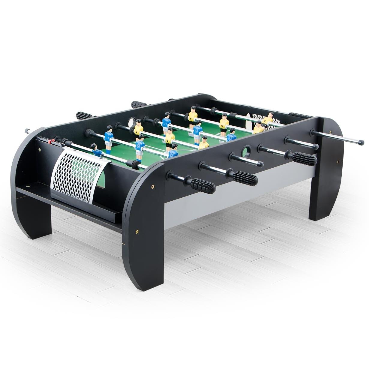 Игровой стол-футбол Hannover (97х54х35) черный 51.303.03.0