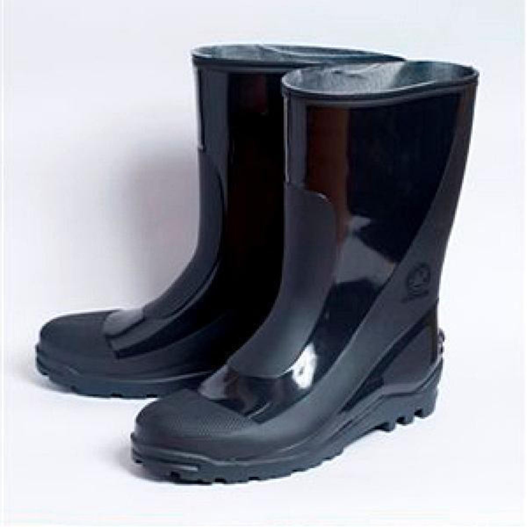 Сапоги ПВХ мужские 95-77 р.46 цвет черный/олива высота 30см