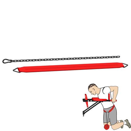Пояс утяжелительный для турников и брусьев, нагрузка до 40 кг (гп032701)