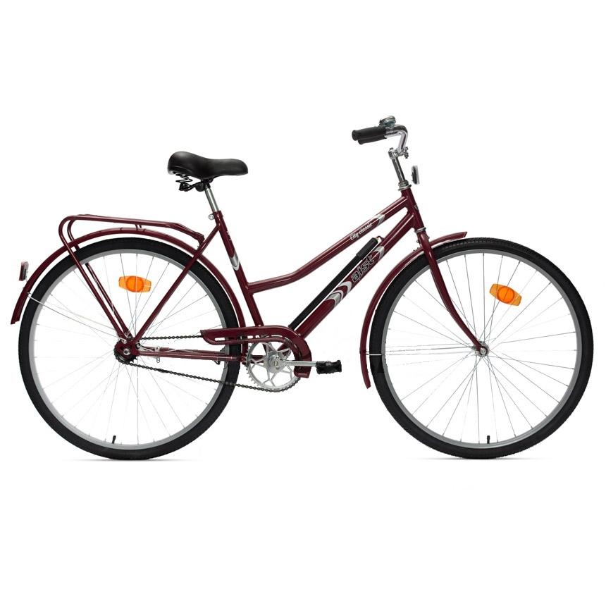 """Велосипед AIST 28"""" 28-240 дорожный с открытой рамой бордо"""