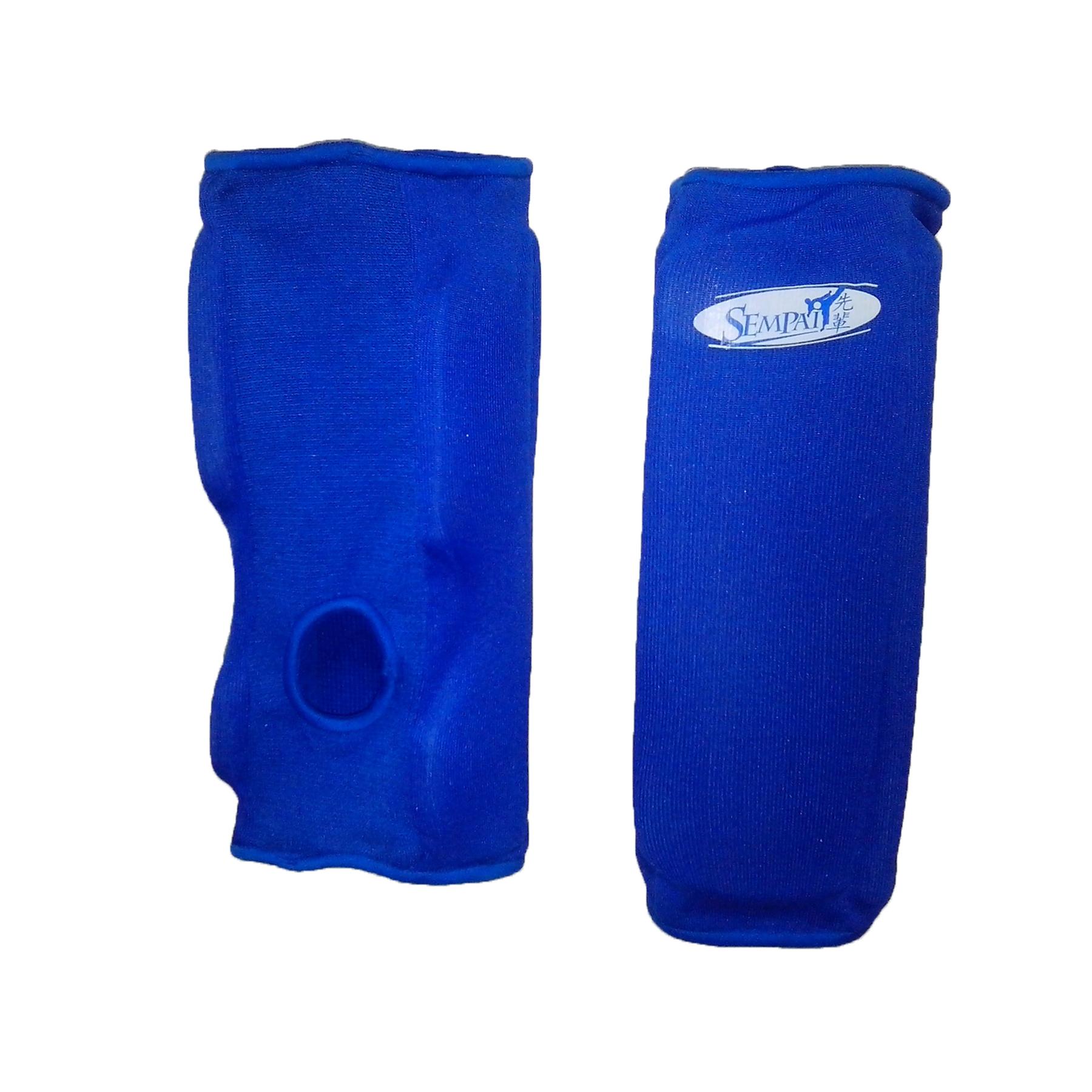 Защита колена и голени Sempai эластичная S104-L/XL-BE синяя УЦЕНКА!!! 5.8