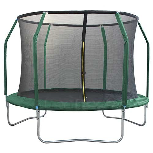 Батут с защит.сеткой (внутрь) без лест. 366 см  12FT-GB10201