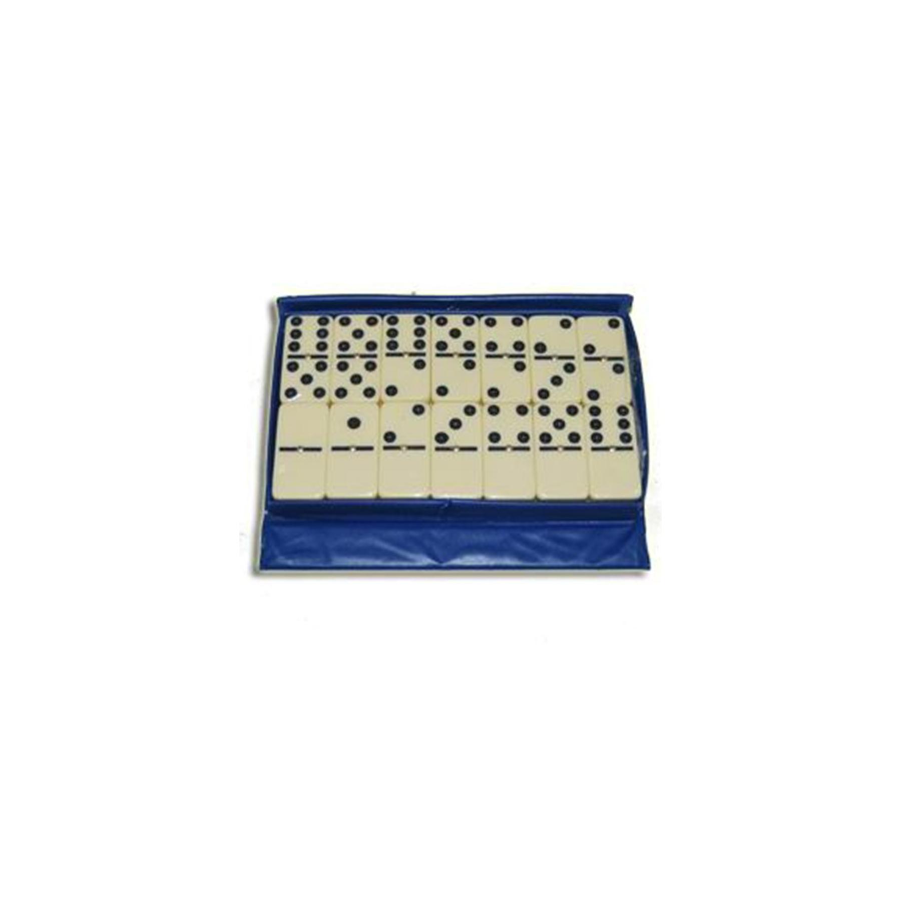 Домино в картонной коробке. Материал: пластмасса, картон. 5010Z (09047)