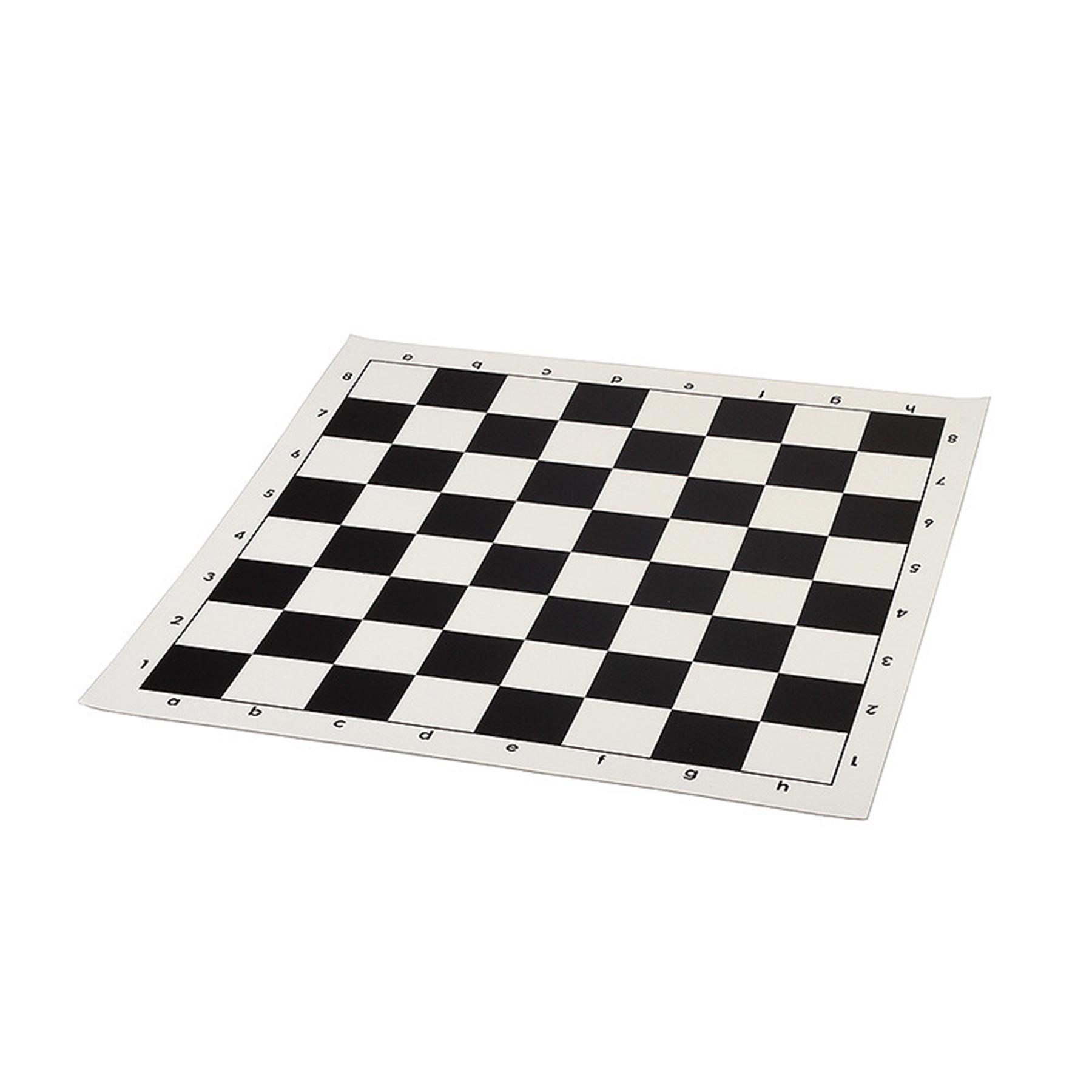 Доска для шахмат, виниловая. Размер 38х38 см. P-3838 (09279)