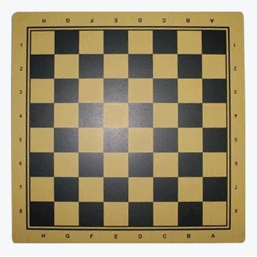 Доска ламинированная для шашек и шахмат.Размер 44х44 см.Материал: прессованный картон.Q44х44(09351)