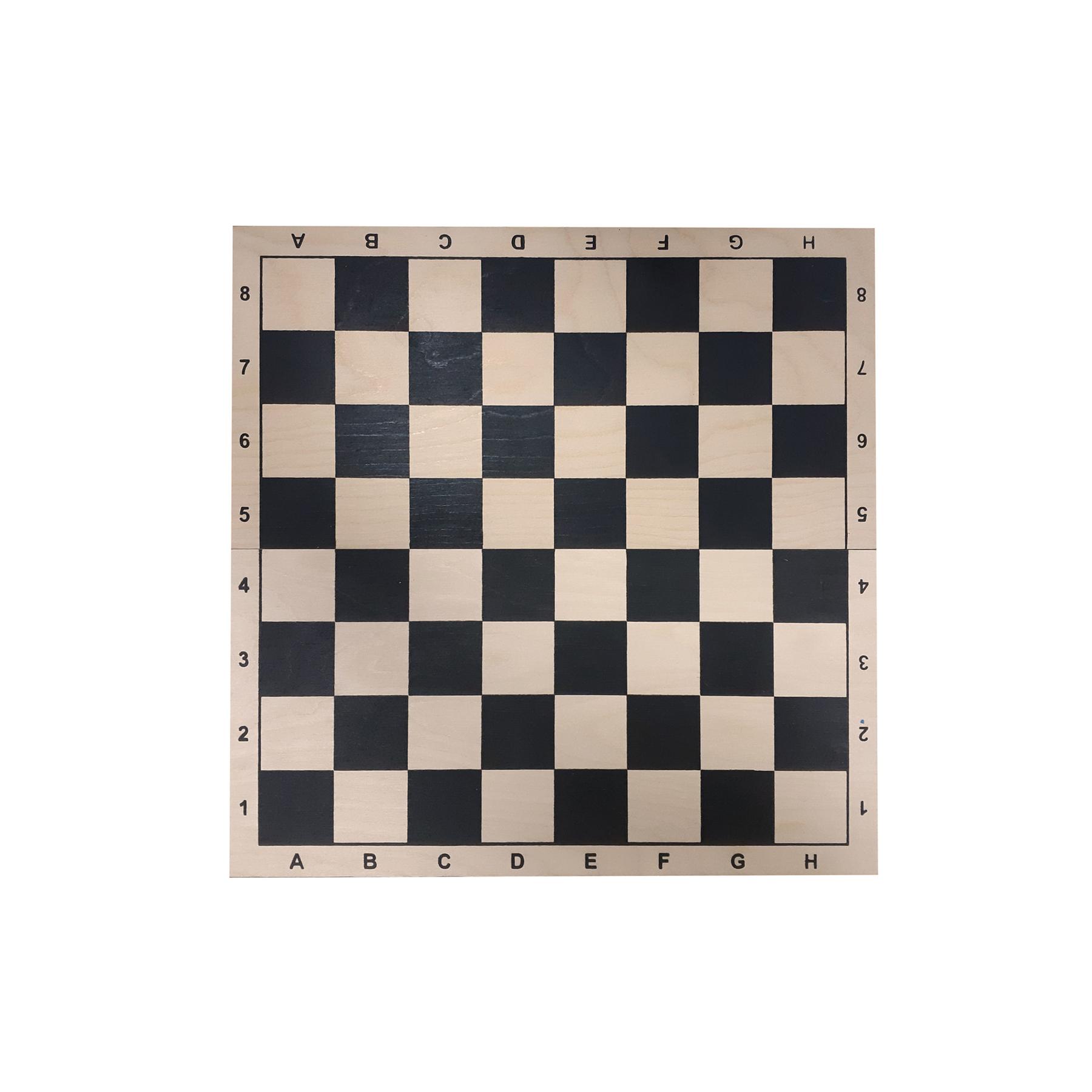 Доска картонная для игры в шахматы, шашки Q220 (09220)