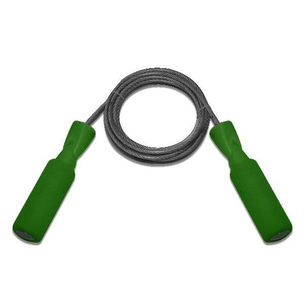 Скакалка - шнур стальной трос в пластиковой оплетке 2,6м 0312 (16503)