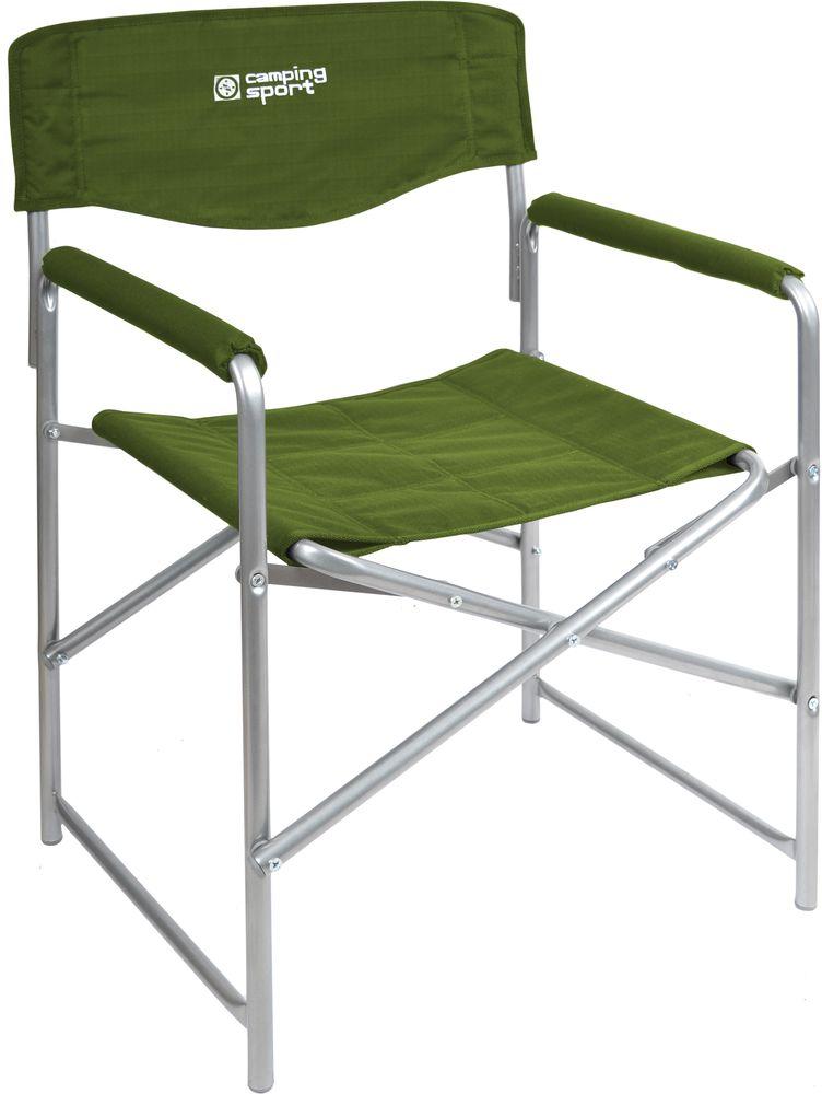"""Кресло складное """"НИКА"""" КС3 нагрузка 120кг,цвет хаки,размер 490*550*820мм"""