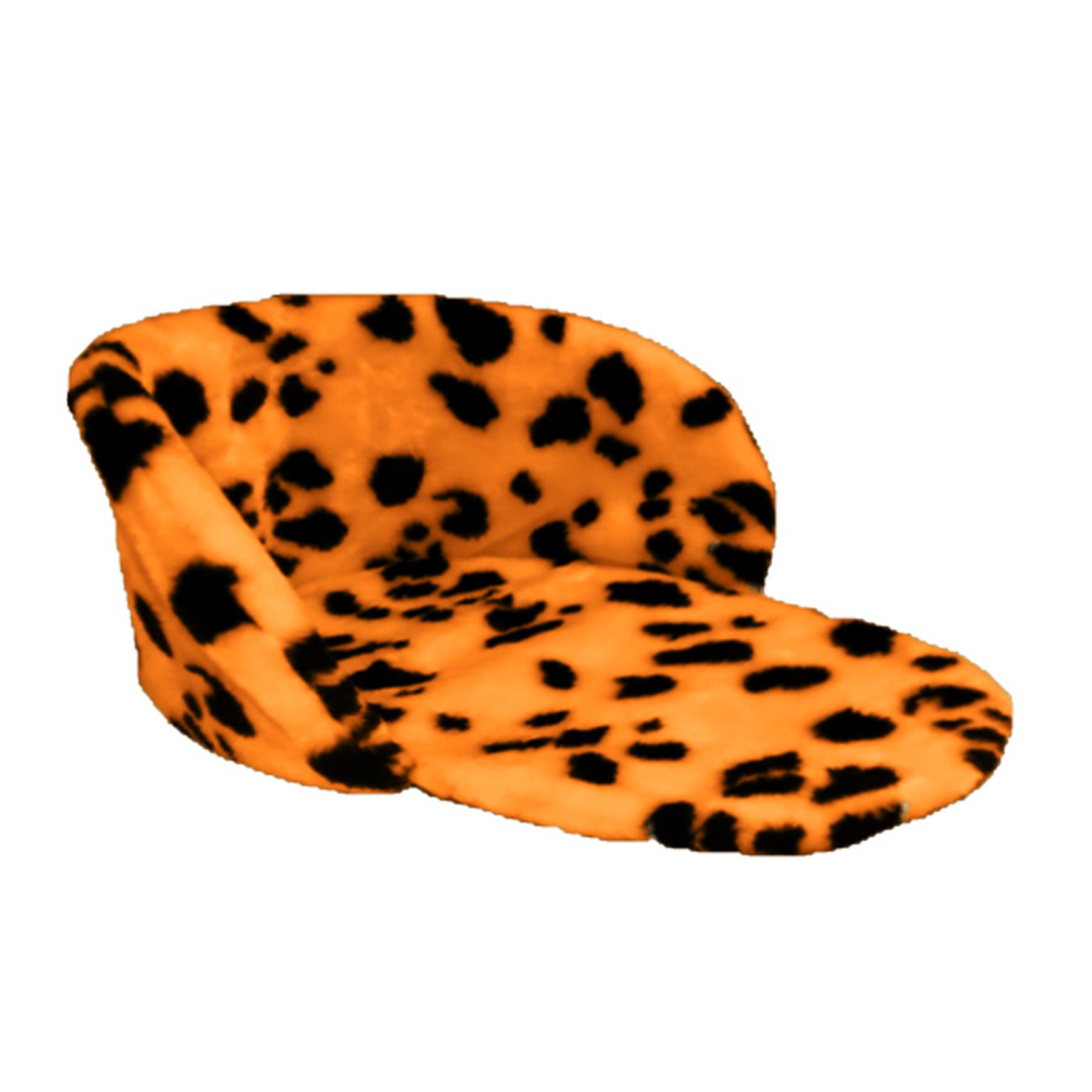 Матрасик для детских санок универсальный МЕХ (леопард)