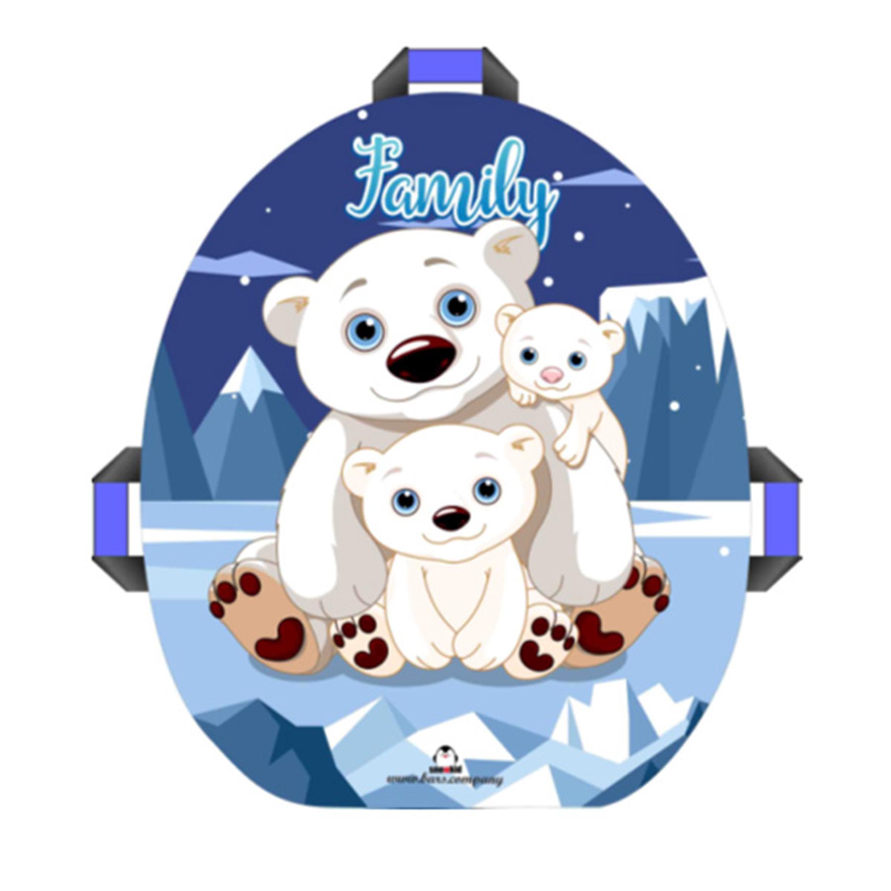 """Сноубот """"Snowkid"""" 50см (Семья медведей)"""
