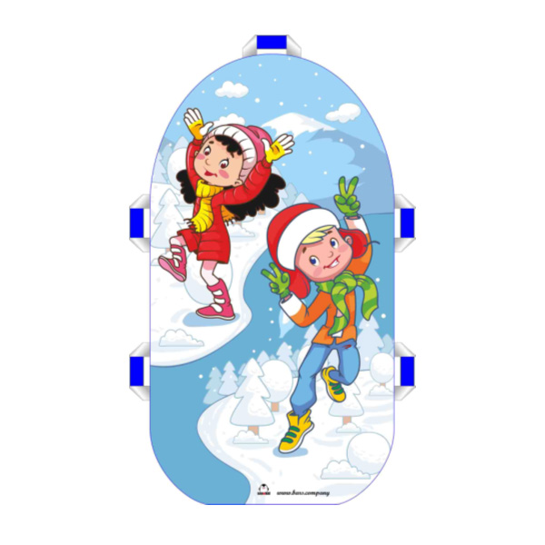 """Сноубот """"Snowkid"""" 80см (Зима)"""