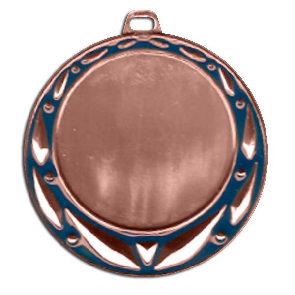 Медаль 042 B/B 70мм бронза + эмблема 3 место с лентой