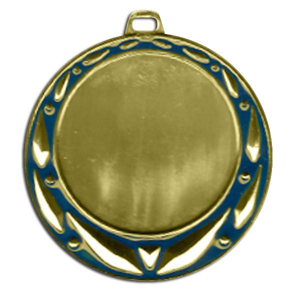 Медаль 042 D/G  70мм золото + эмблема 1 место с лентой