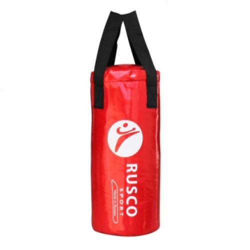 """Мешок бокс. """"BOXER""""  10 кг на ленте 25*55см красный тент/резин.крошка"""