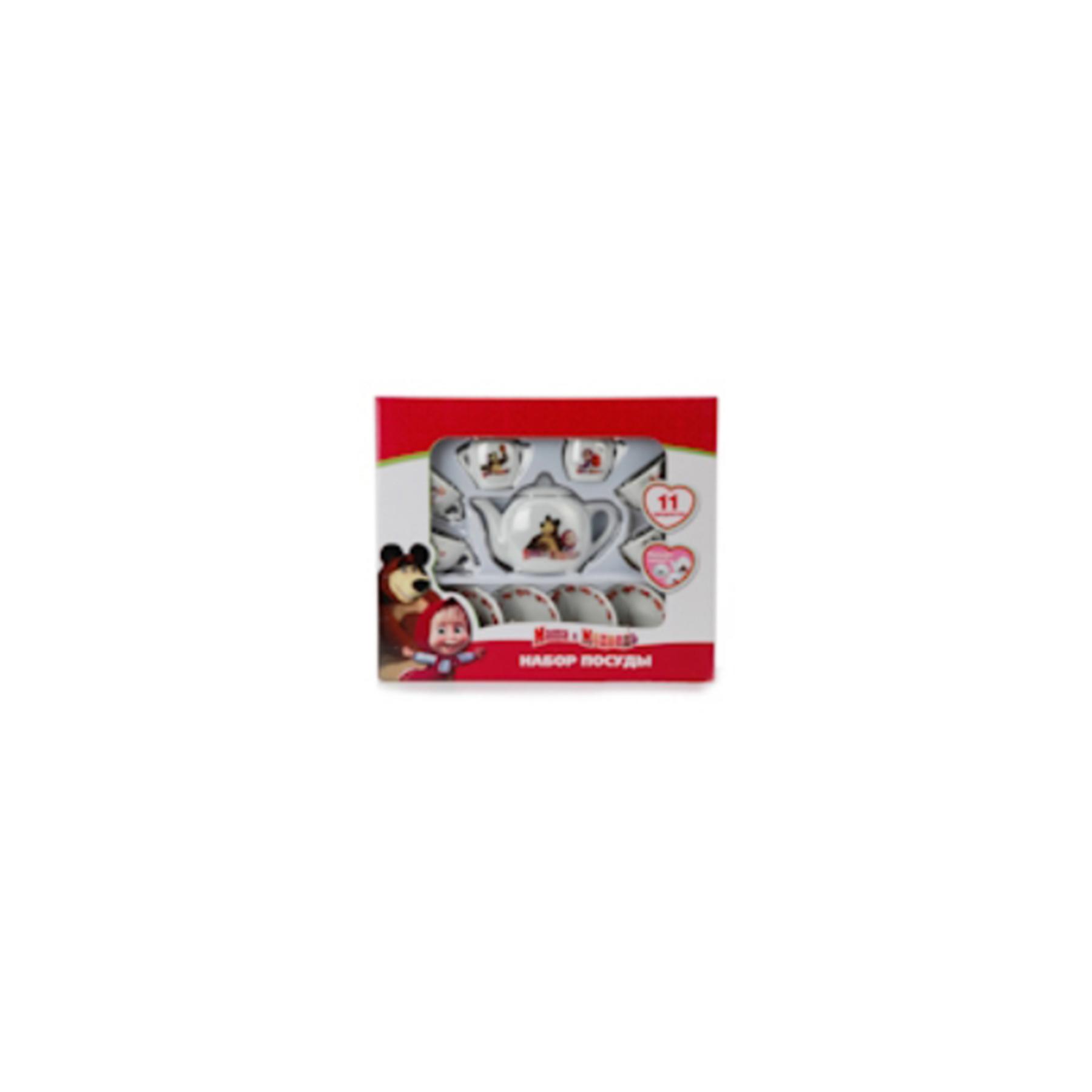 """Набор посуды """"играем вместе """" МАША И МЕДВЕДЬ CH 0034-RR (179809)"""