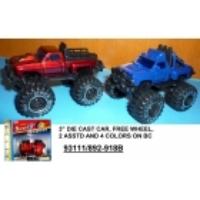 Машина  металлическая в ассортименте в коробке 93111-892-918В (201236)