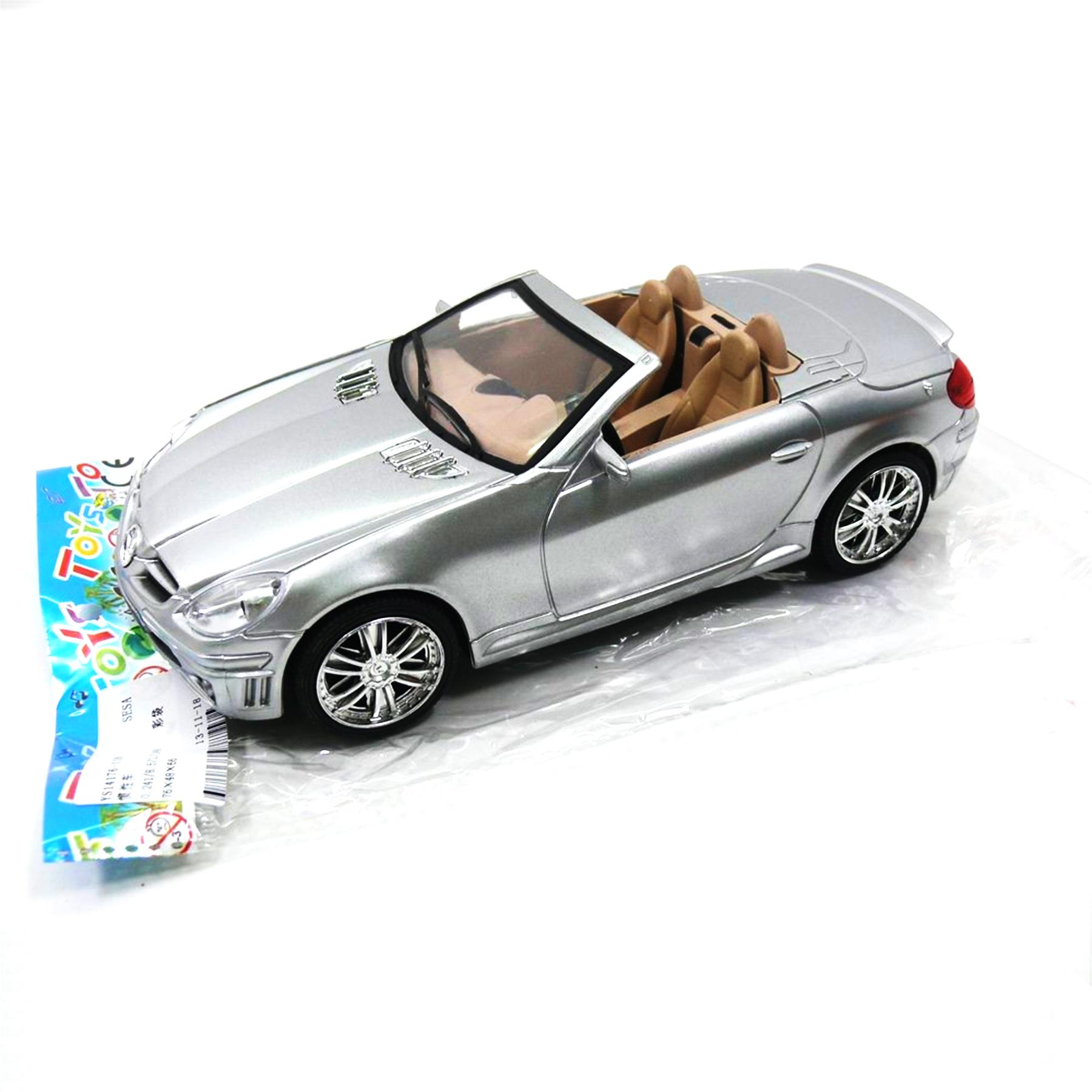Машинка инерционная в пакете (кабриолет) 23*10*6 118