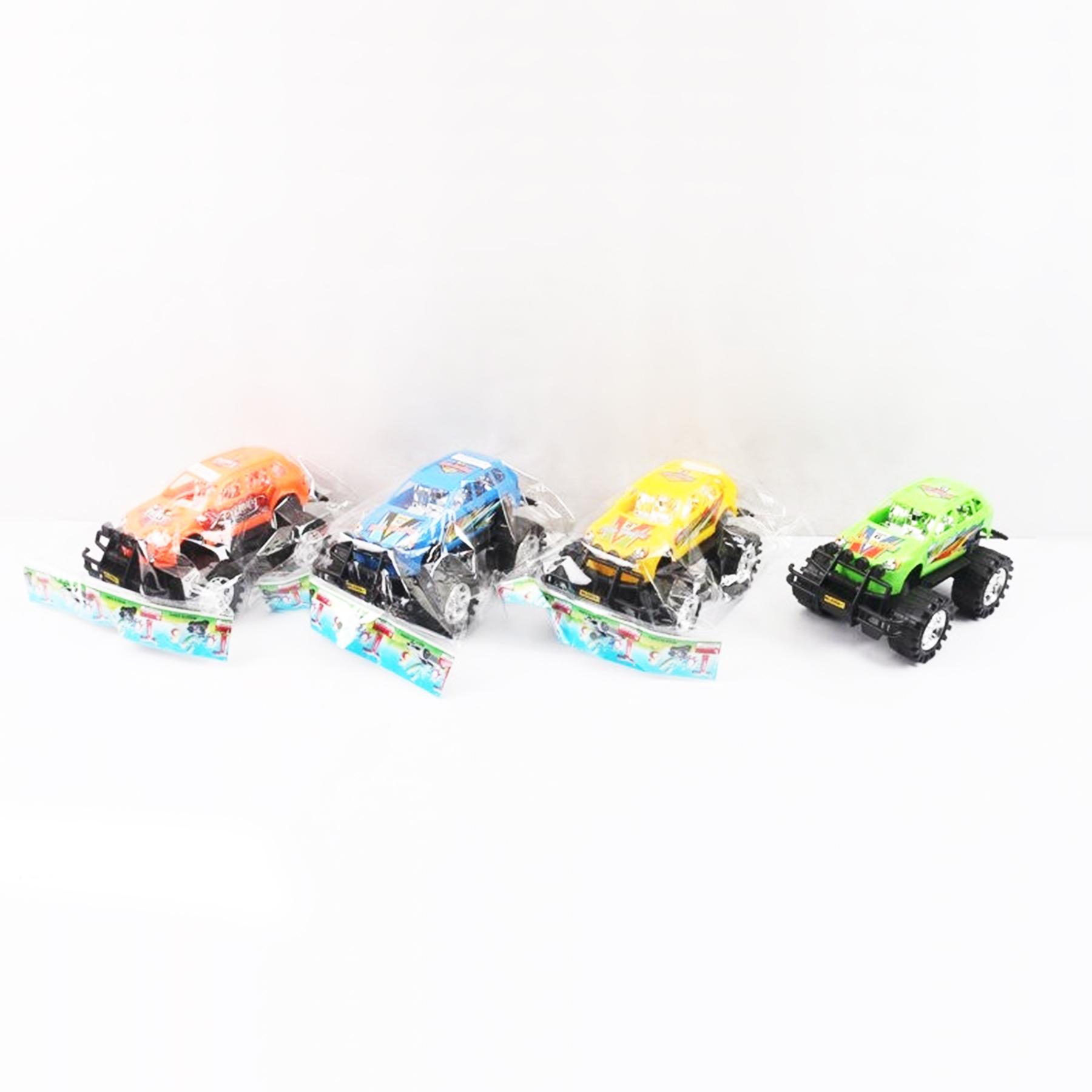 Машинка ДЖИП инерционная в пакете 4 цвета 18*10*9см 0206А-1