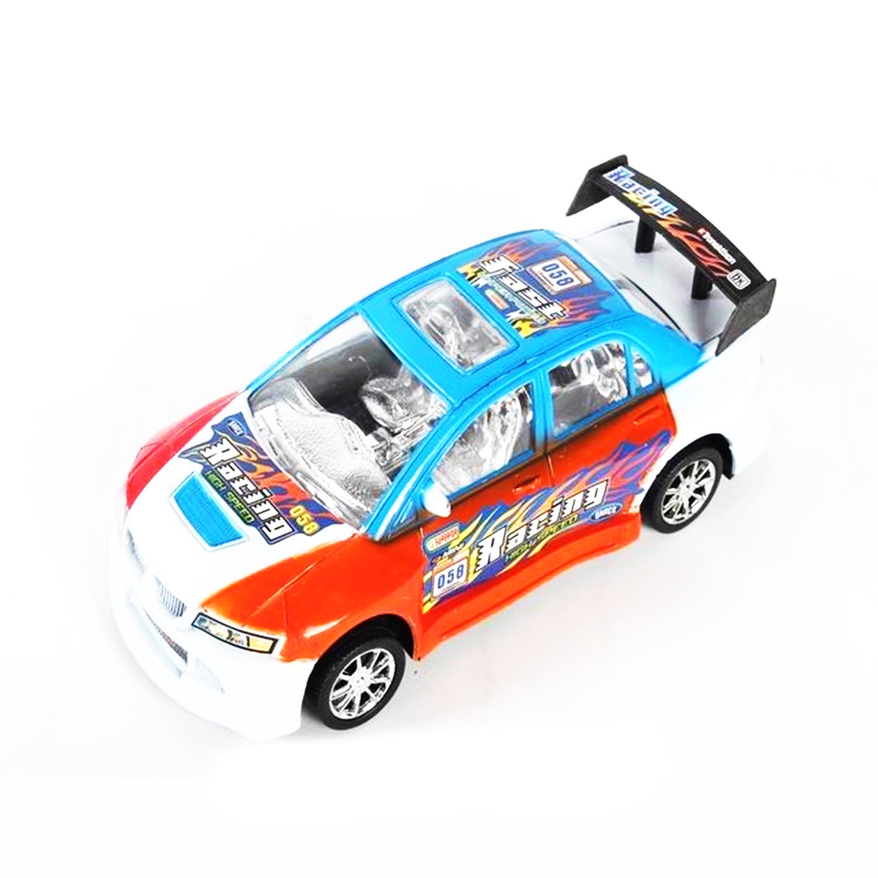 Машинка инерционная спорткар в пакете 25*10*8см 9621-D1