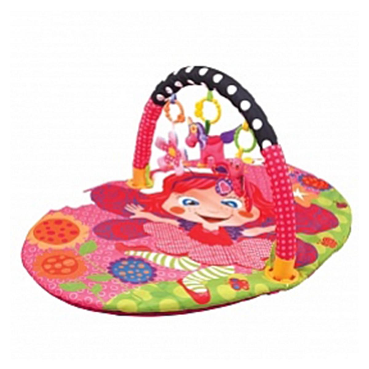 """Коврик детский развивающий с дугой """"Цветочная принцесса"""" 49386"""