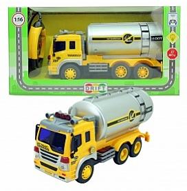 Машина р/у грузовик-бензовоз, со зв. и св., 27*10*14 см, 29624 (47968)