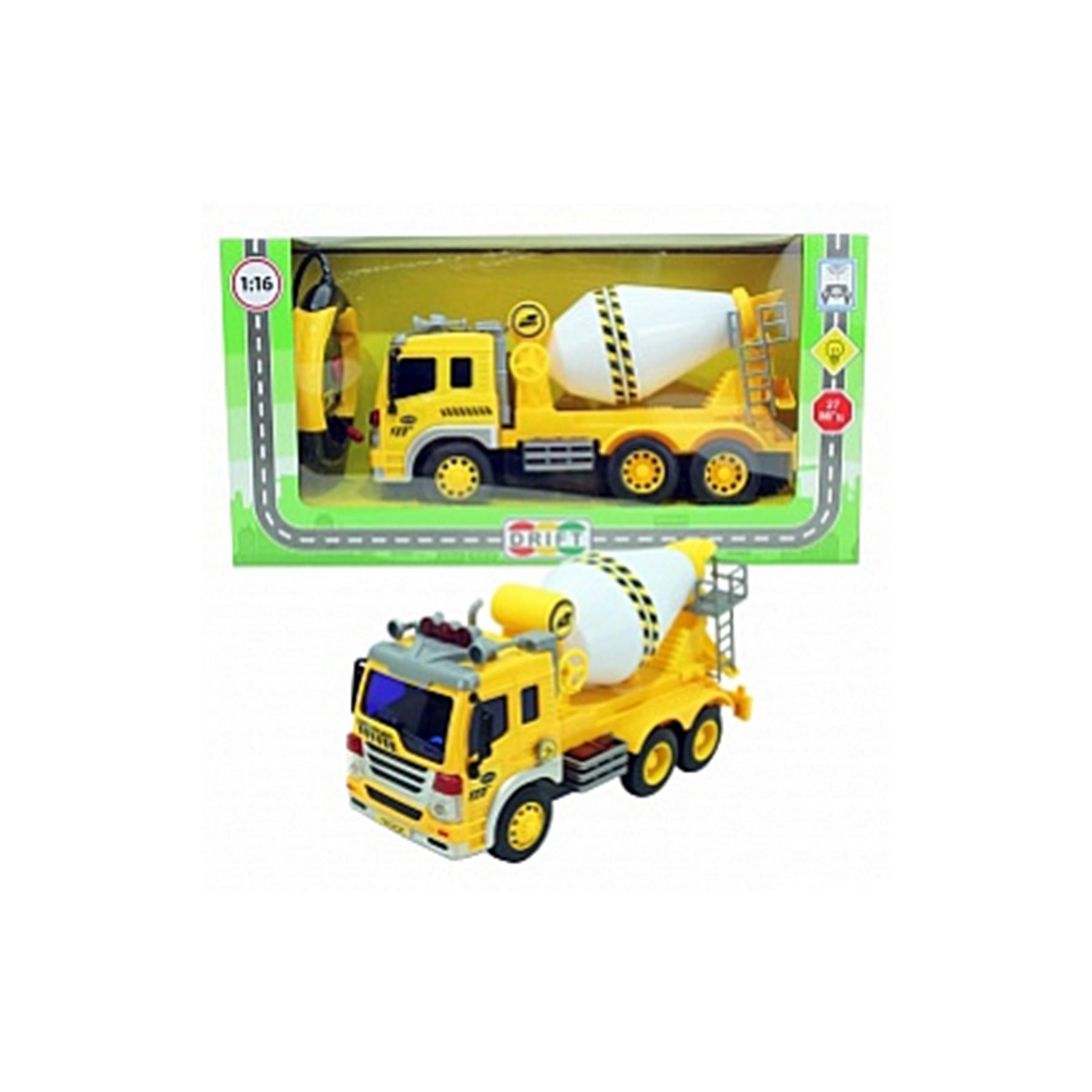 Машина р/у грузовик-бетономешалка, со зв. и св., 26*10*14,5 см, 29626 (47971)
