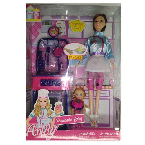 Кукла 29см., кулинар, в ассортименте, 47874