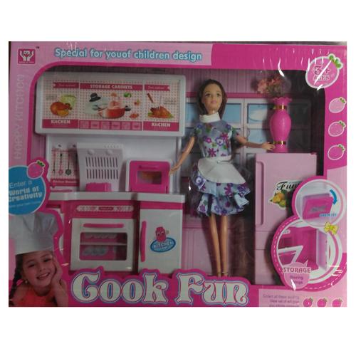 Кукла 29см., с набором мебели, в ассортименте, 47879
