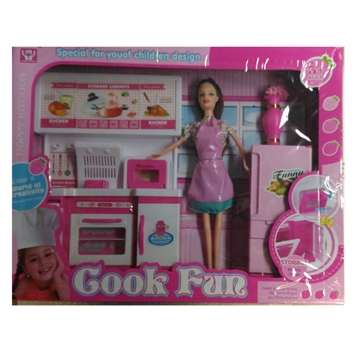 Кукла 29см., с набором мебели, в ассортименте, 47881