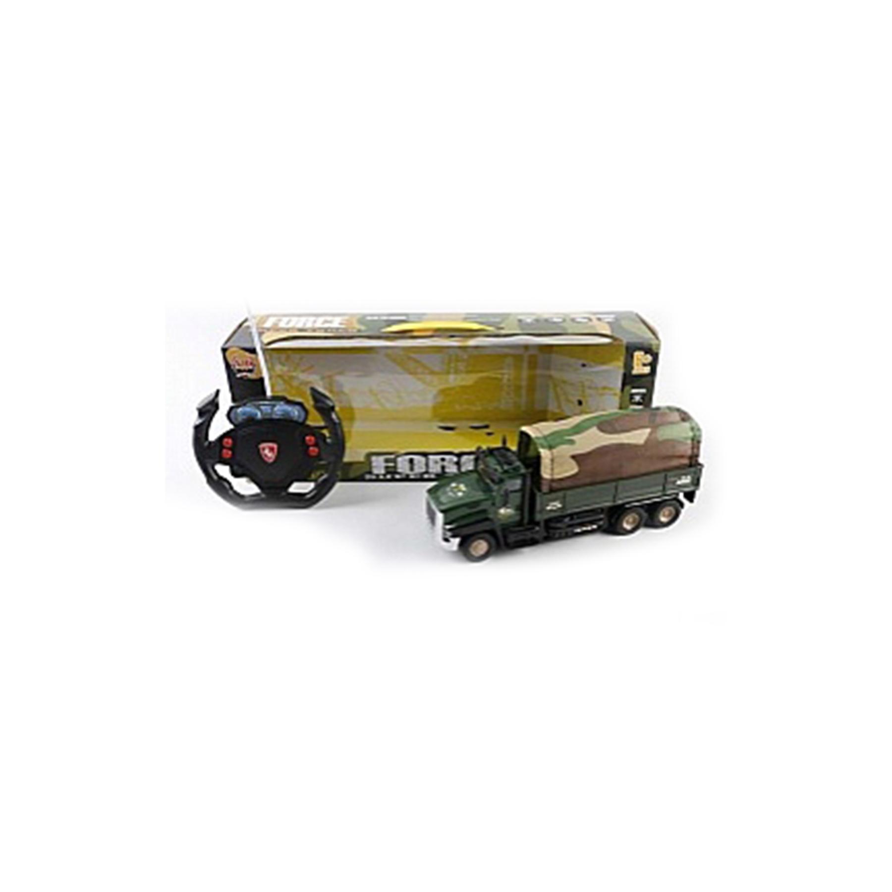 Машина грузовик р/у, свет, бат., 47936